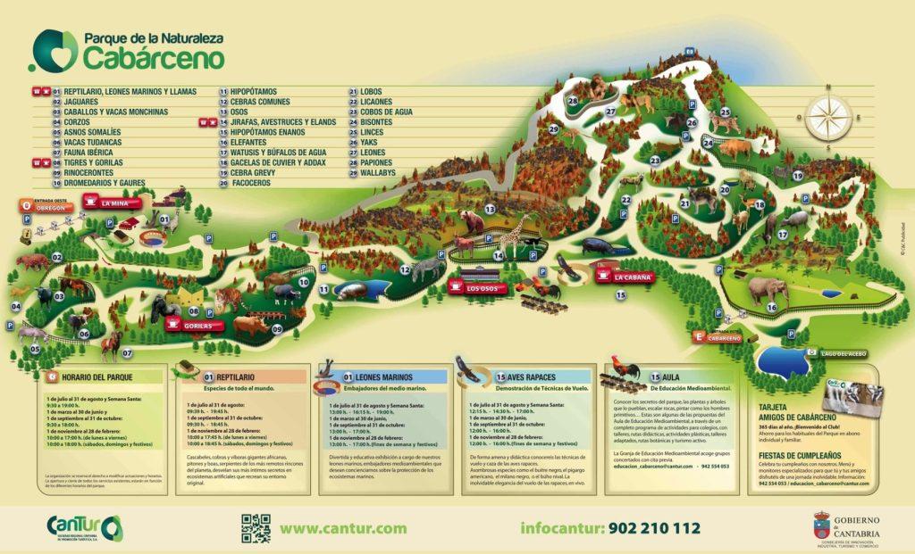 donde esta ubicado el parque de la naturaleza de Cabárceno