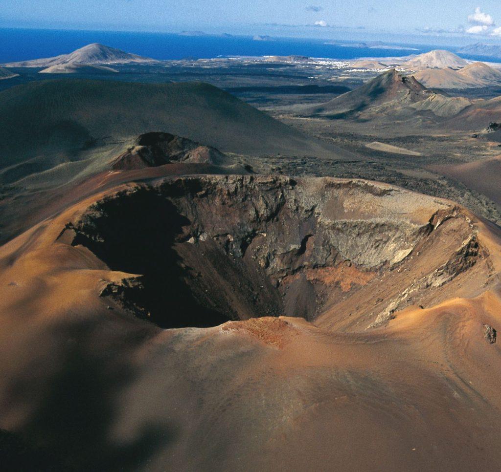 volcan de Timanfaya en Lanzarote