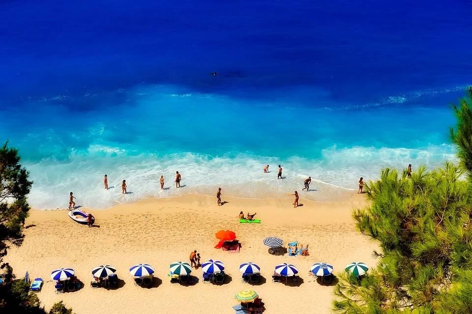 playas en grecia turismo